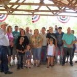 Equine Trail Supporters from Avery TX turned out to host the Best of America By Horseback TV Show June 2013